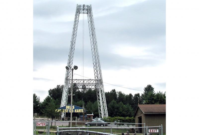 Dells thrill ride accident Terminal Velocity ride