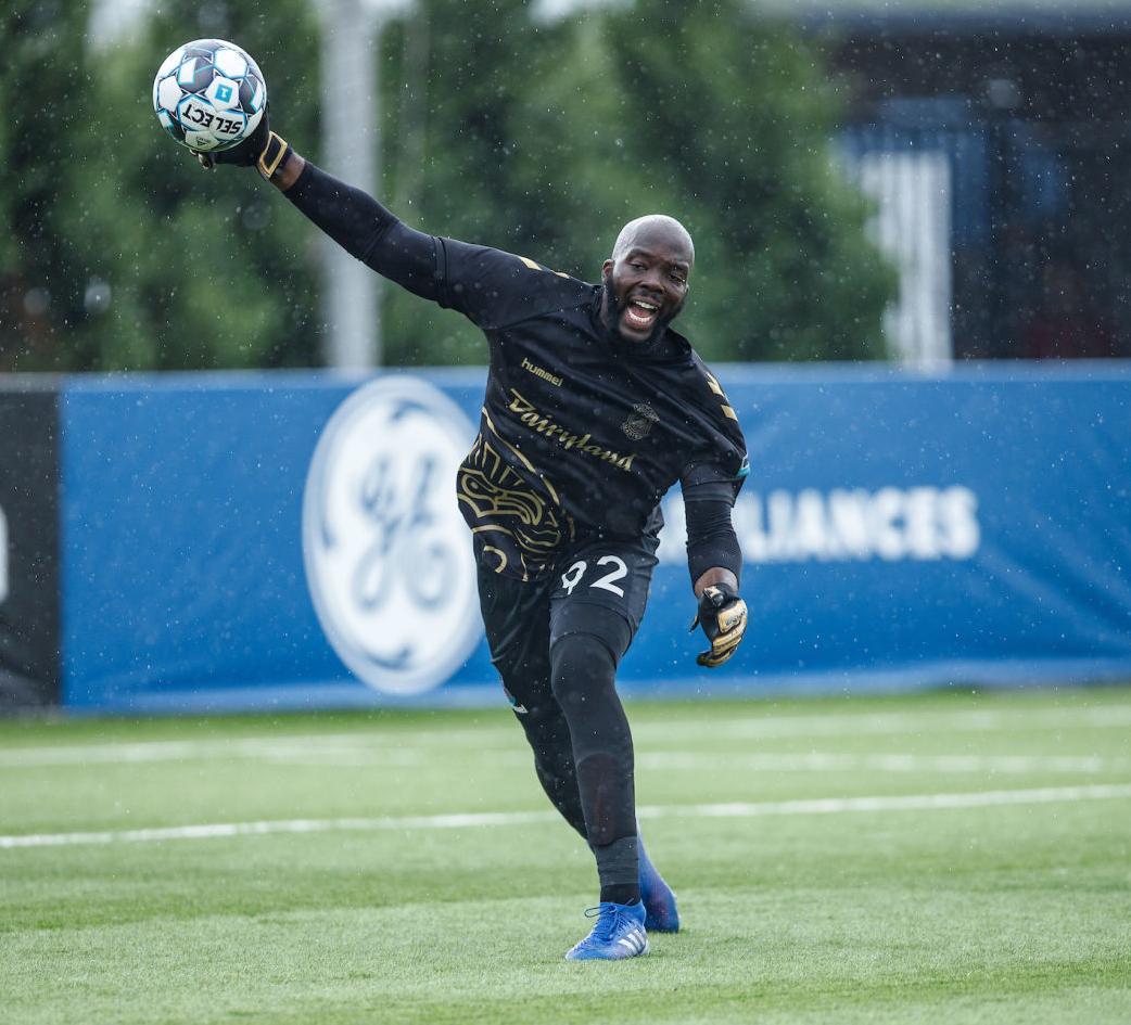 Forward Madison FC accepts transfer bid for starting goalkeeper Brian Sylvestre