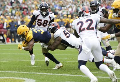 Aaron Jones - Packers vs. Broncos