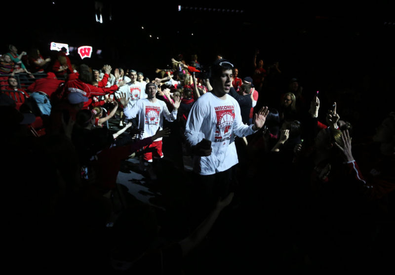 Photos: Badgers welcomed back at Kohl Center | Wisconsin