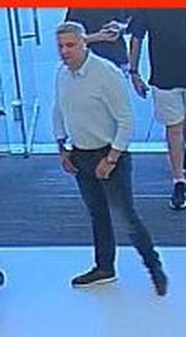 Health club thefts suspect 1