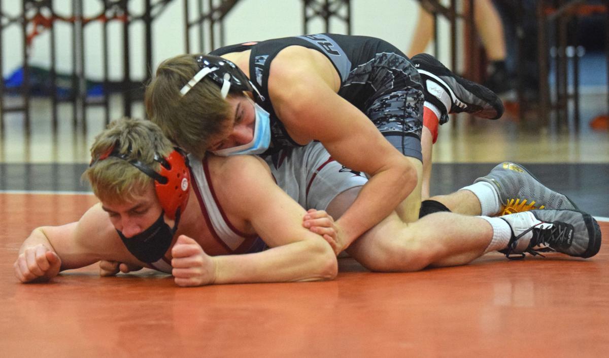 Prep wrestling photo: Belleville co-op's Joe Quaglia