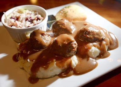 Viking Brew Pub meatballs