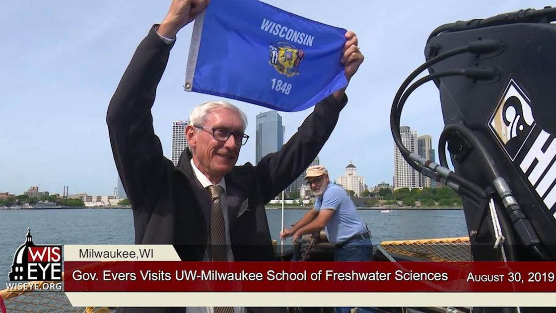 WisEye Morning Minute: Gov. Evers Tours School of Freshwater Sciences - Madison.com