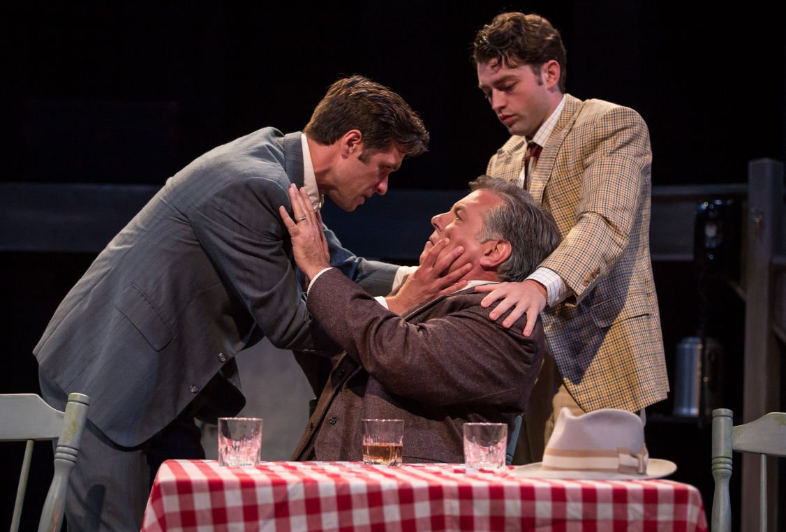 Marcus, Brian and Casey in Death of a Salesman