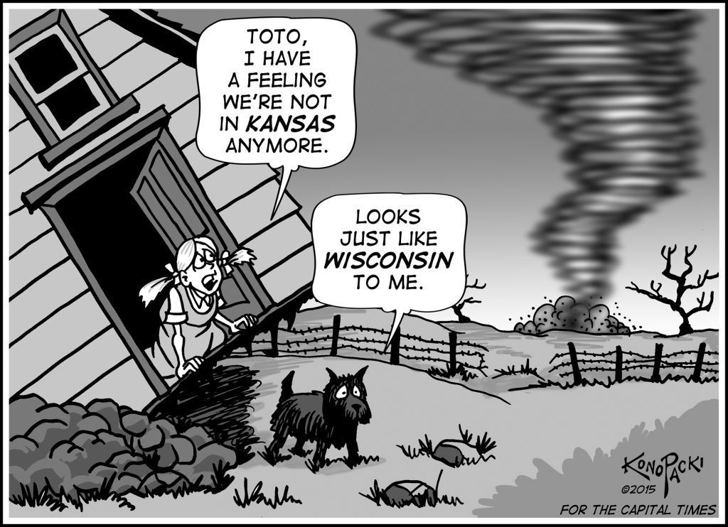 Editorial cartoon 4/8/15