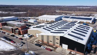 Madison solar panels