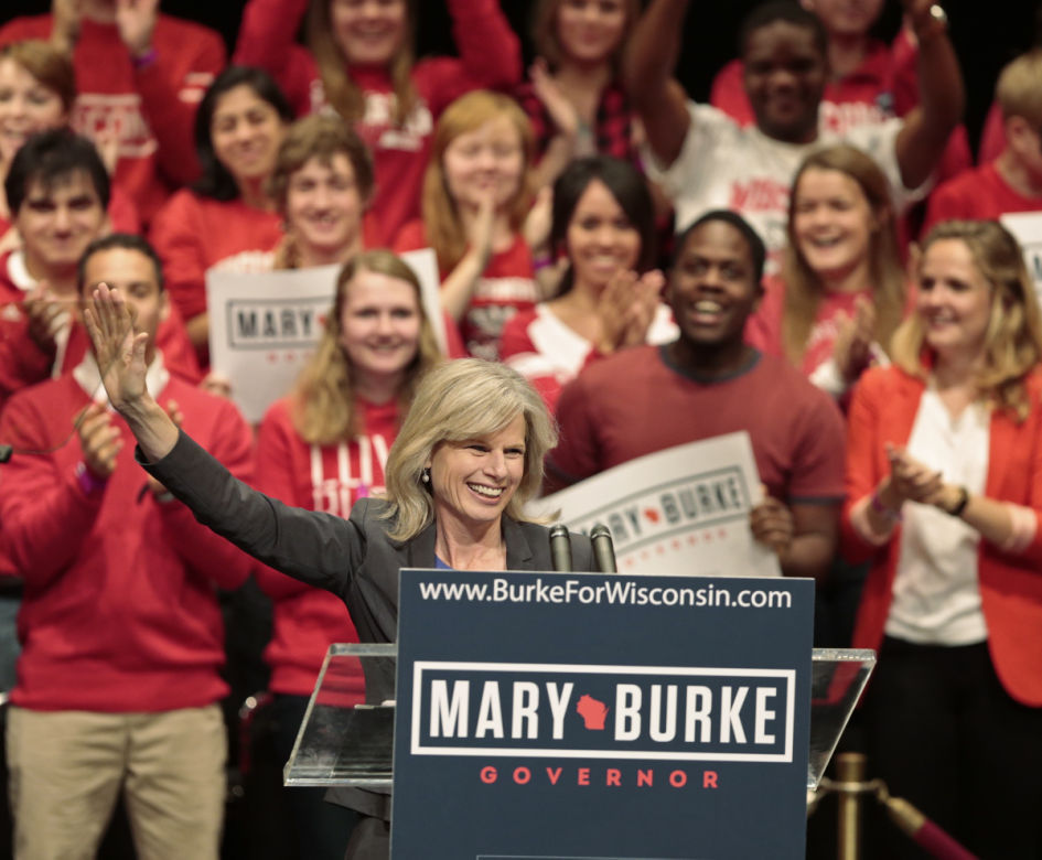"""Mary Burke seeks """"an end to the divisiveness"""""""