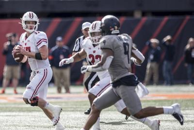 Jack Coan S Late Interception In Badgers Loss To Fighting