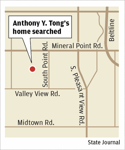Anthony Tong home search map