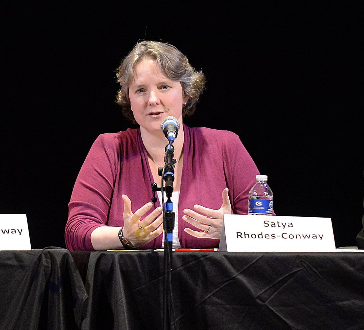 Satya Rhodes-Conway at debate