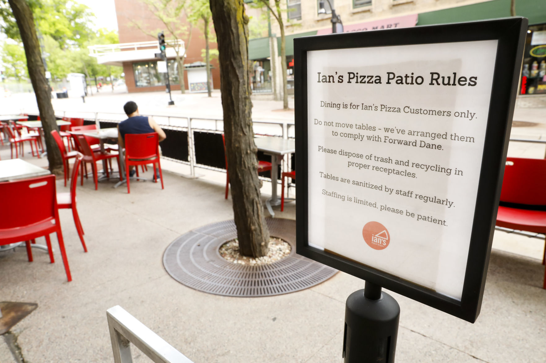 City Loosens Limits On Outdoor Dining Creates Cafe Zones Local News Madison Com