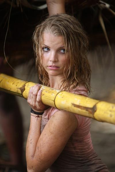 Survivor Nudity: Ashley Trainer Boobs