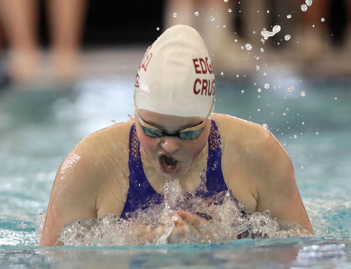 Prep girls swimming photo: Madison Edgewood's Peyton Drexler