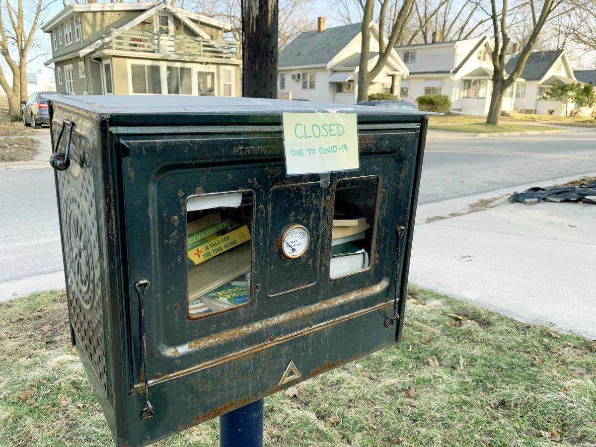 Little Library closed