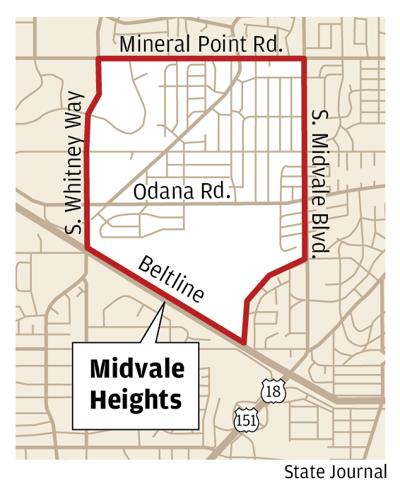Midvale Heights neighborhood