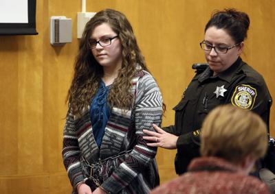 Anissa Weier sentencing, Slender man stabbing, JS photo