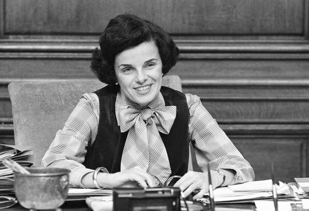 Image result for dianne feinstein 1978