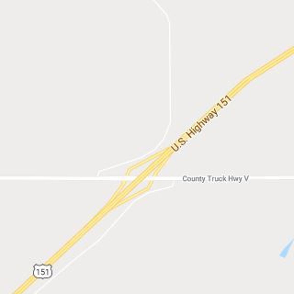 Minivan driver hit tractor near Sun Prairie
