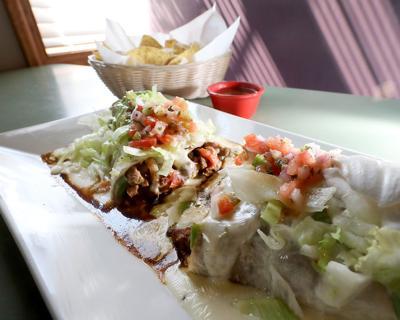 El Charro burrito