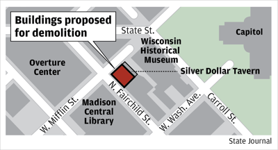 Buildings proposed for demolition