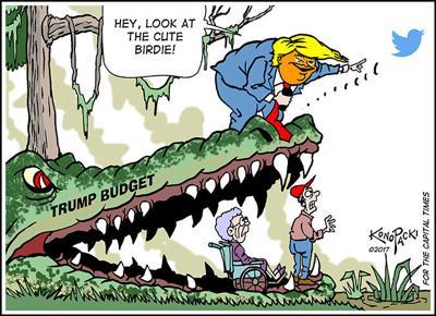 Editorial cartoon (6/21/2017)