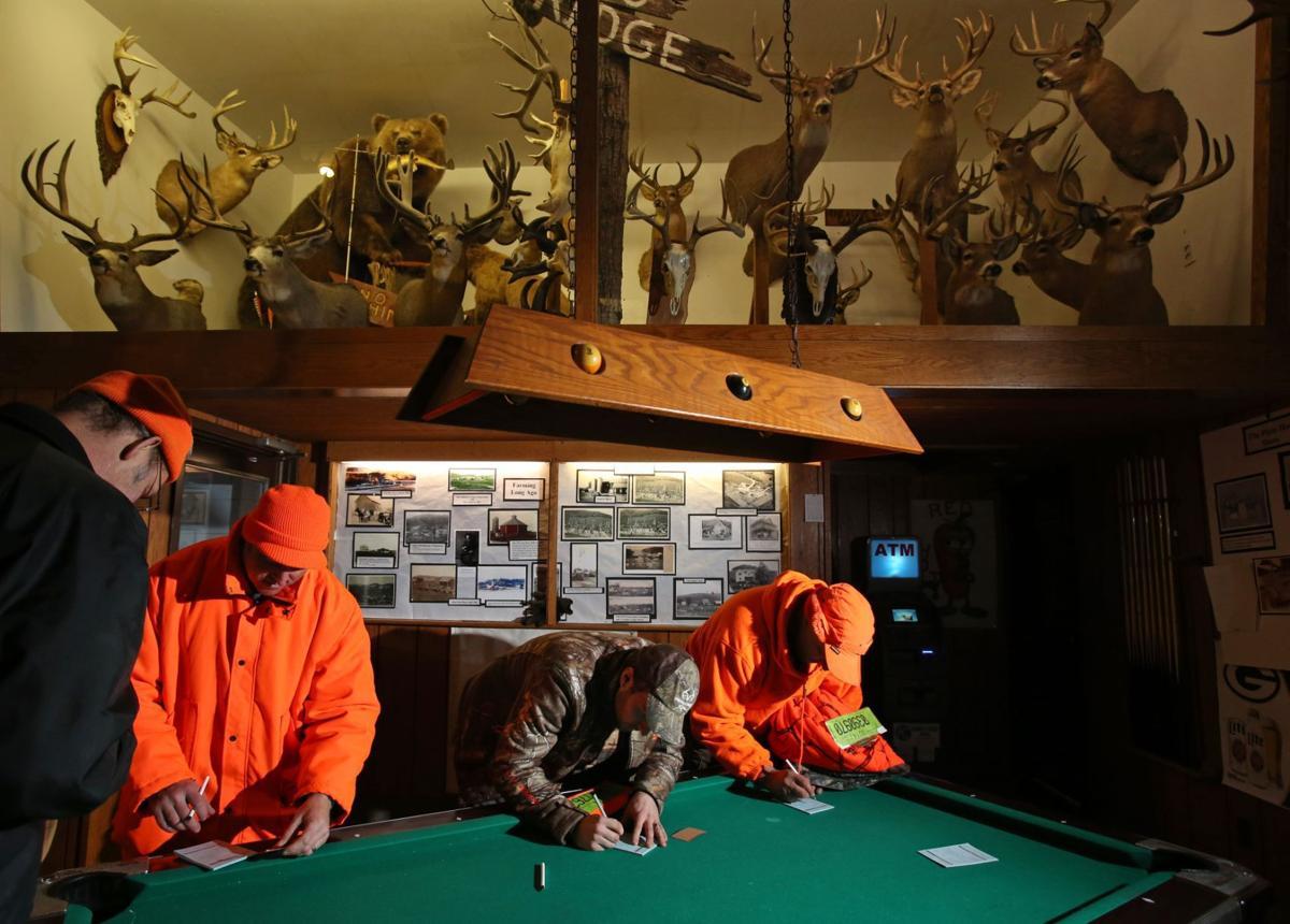 Deer hunt registration for A1