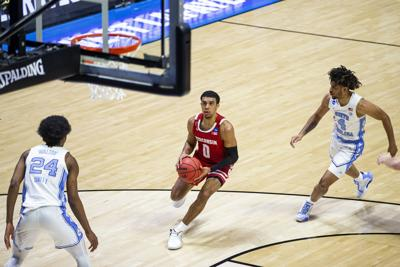 NCAA North Carolina Wisconsin Basketball