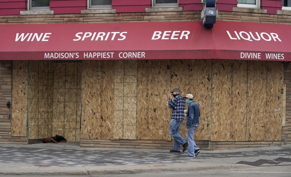 Cleanup after latest damage Downtown