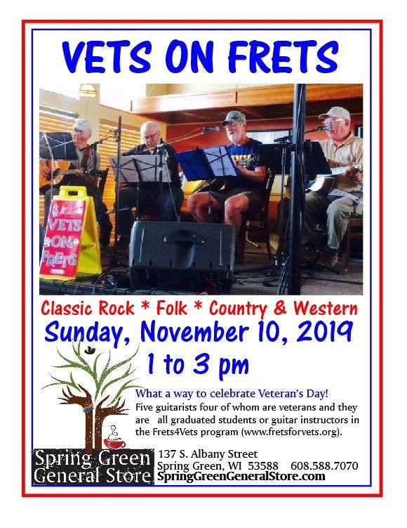 Vets on Frets celebrate Veteran's Day
