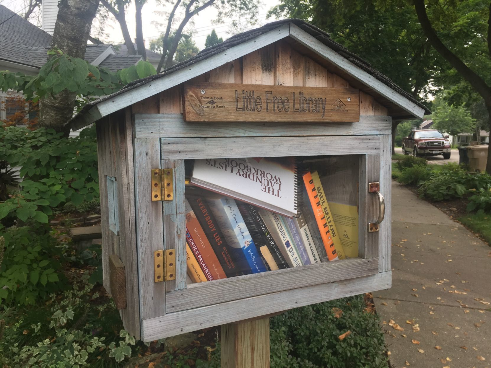 little libraries spread worldwide after strong start in madison rh madison com