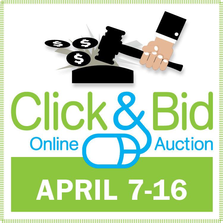 Click & Bid 2019 logo