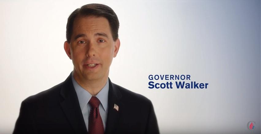 Walker in Cruz ad