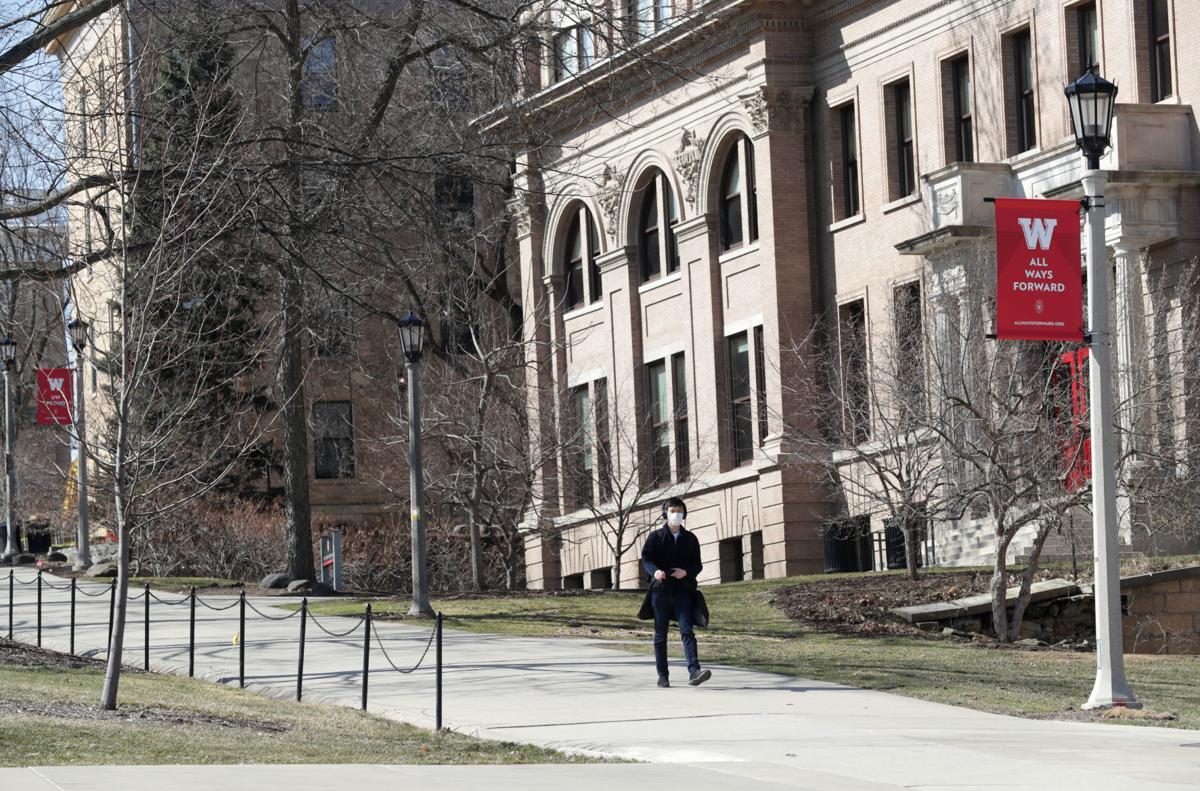 UW empty campus