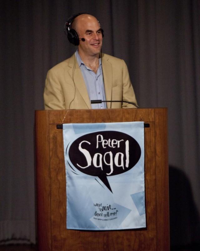 Wait, Wait,' do tell me — Peter Sagal is bald