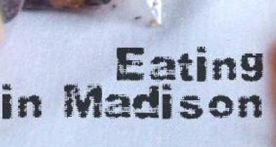 eating in madison