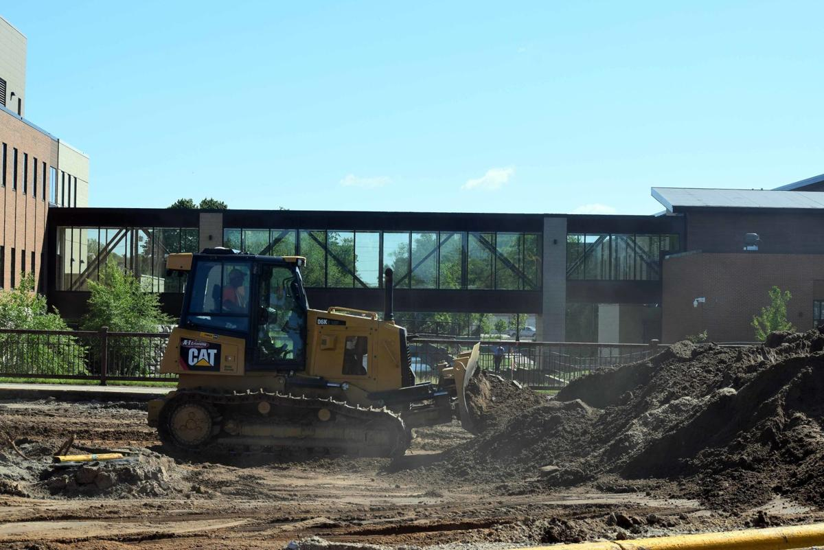 Portage construction shifts to phase 2