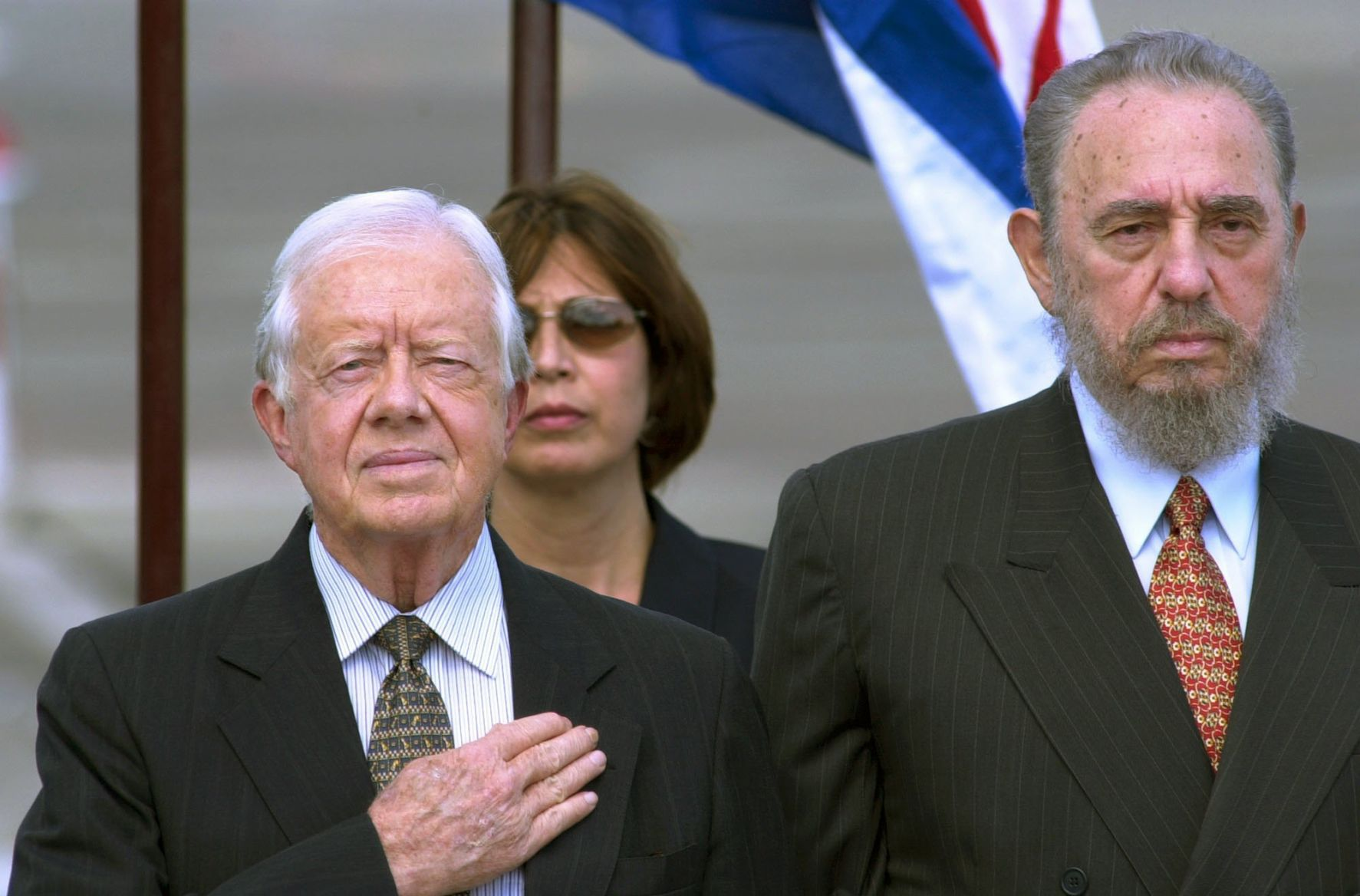 Visita del expresidente norteamericano Jimmy Carter