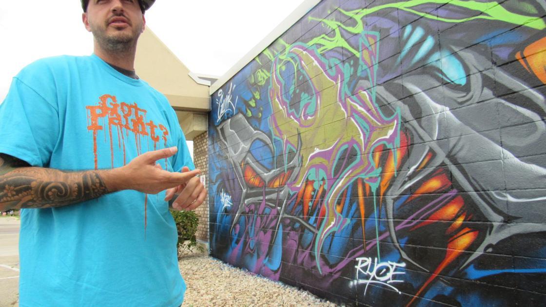 Momentum Art Tech Murals Spray Paint And A Business Plan Madison Wisconsin Business News Madison Com
