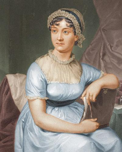 Illustration of Jane Austen