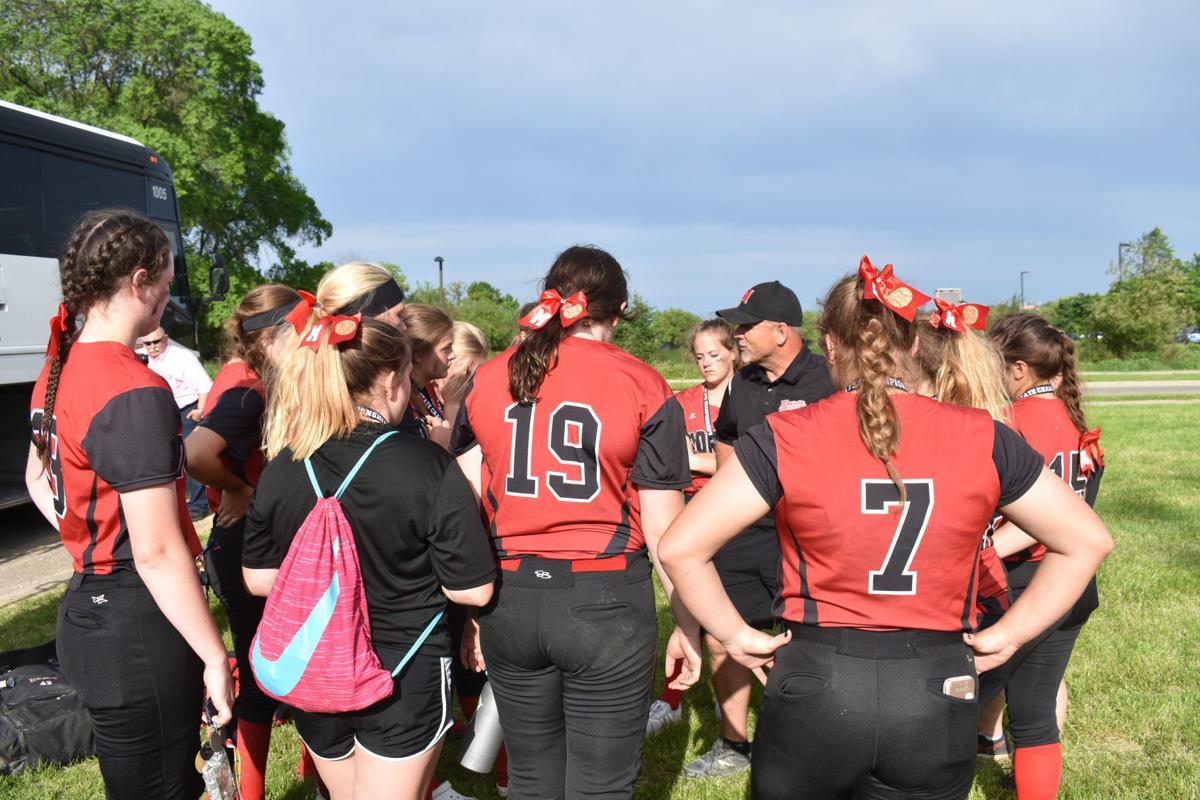 WIAA Division 2 softball: Post-game talk for Monroe