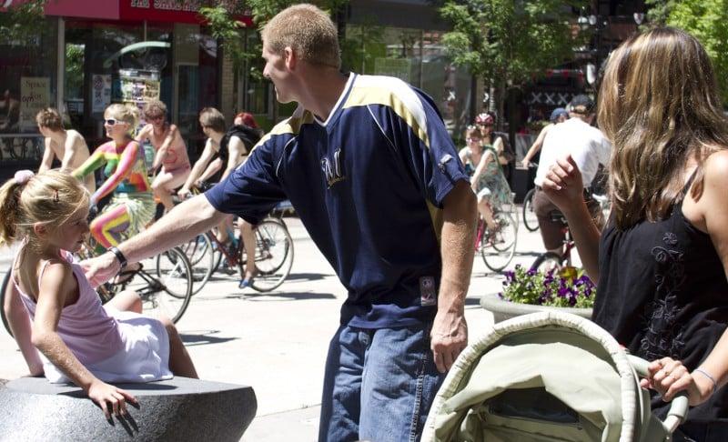 Naked Bike Ride Madison
