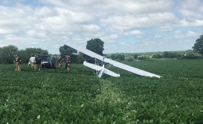 Ultralight plane photo