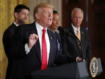 Donald Trump, Ron Johnson, tariffs