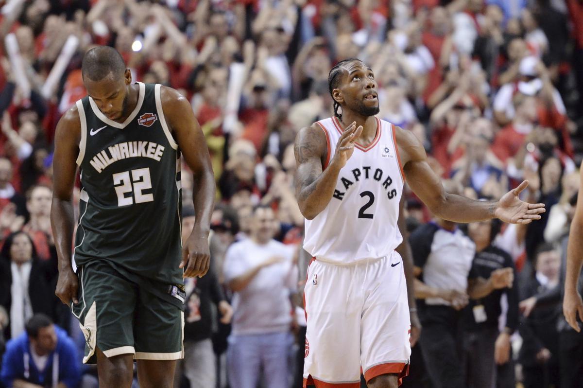 APTOPIX Bucks Raptors Basketball