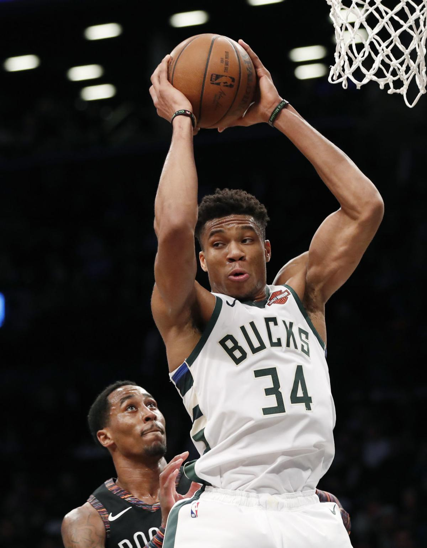 Giannis Antetokounmpo, Bucks blast Nets | Basketball ...