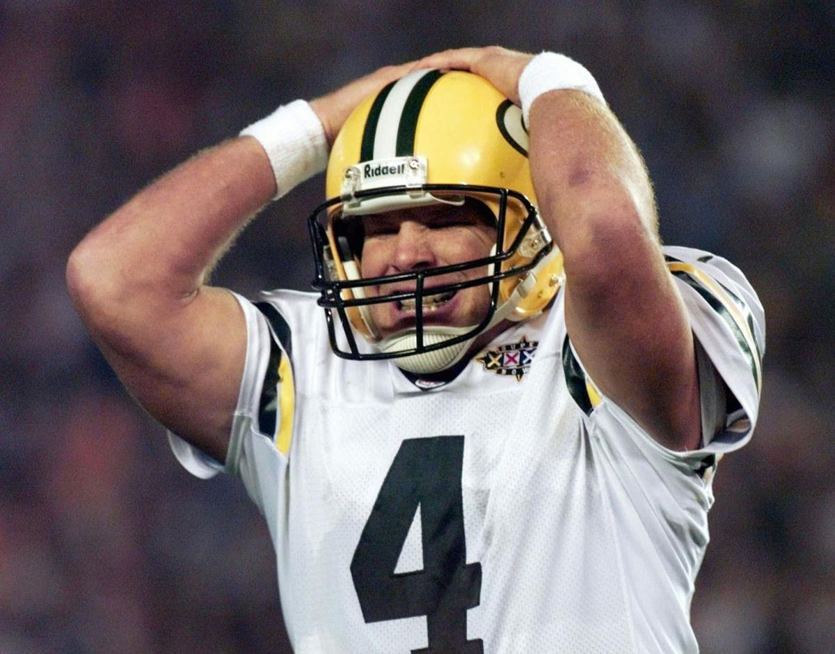 brett favre The big right arm the joy on his face when he is running around looking to launch one of his missiles throws the fearlessness and swagger of a.