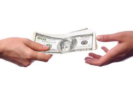 money cash transaction buy sell istock photo
