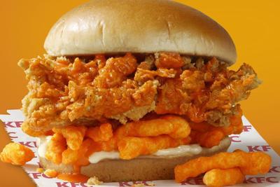 Yeah, I Ate That: Orange is the new sandwich with KFC's Cheetos Chicken Sandwich