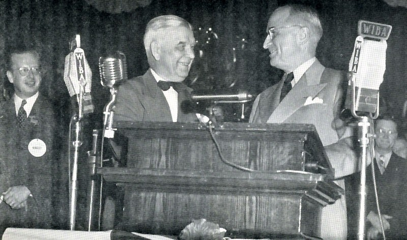 William Evjue and Harry Truman